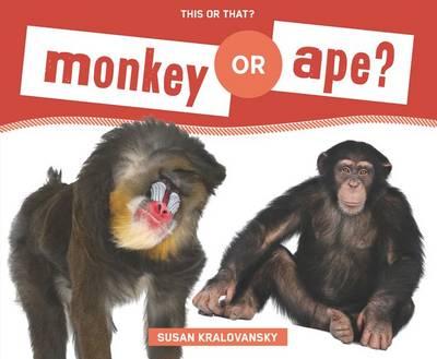 Monkey or Ape? by Susan Kralovansky