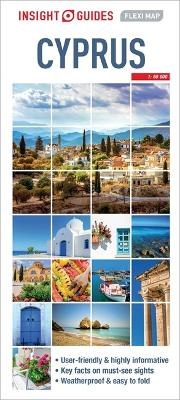Insight Guides Flexi Map Cyprus by Insight Guides