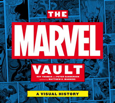 Marvel Vault book