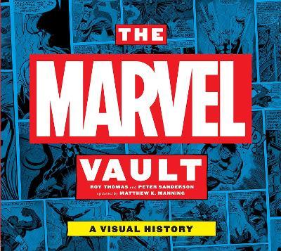 Marvel Vault book