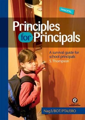 Principles for Principals - Nag 3 / Bot / PTA / Ero by Stephanie Thompson