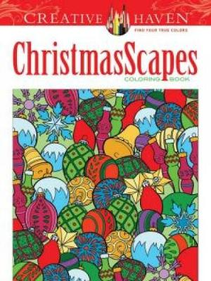 Creative Haven ChristmasScapes Coloring Book by Jessica Mazurkiewicz