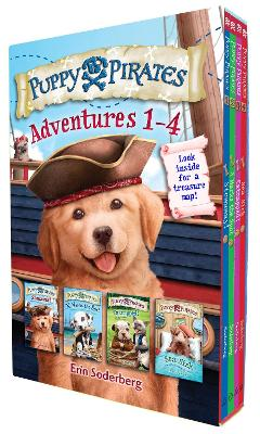 Puppy Pirates Adventures 1-4 Boxed Set by Erin Soderberg
