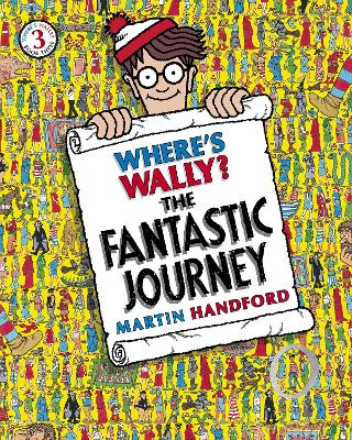 Where's Wally? #3 The Fantastic Journey by Martin Handford