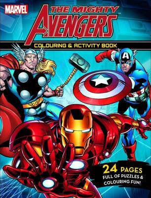 Mighty Avengers - Colouring and Activity Book book