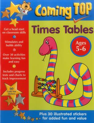 Coming Top: Times Tables - Ages 5-6 by Smoerville Louisa & Smith David