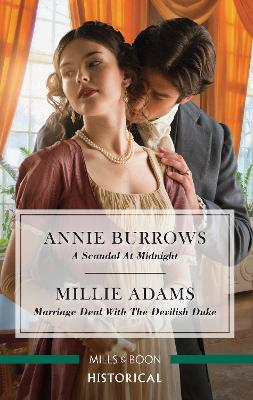 A Scandal at Midnight/Marriage Deal with the Devilish Duke book