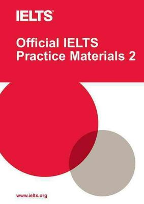 Official IELTS Practice Materials 2 with DVD by University of Cambridge ESOL Examinations