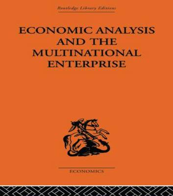 Economic Analysis and Multinational Enterprise book