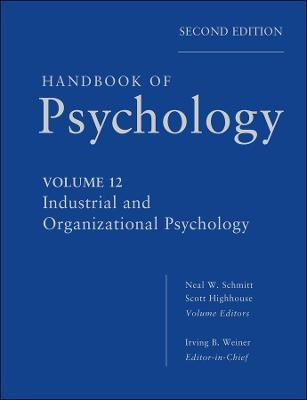 Handbook of Psychology by Irving B. Weiner