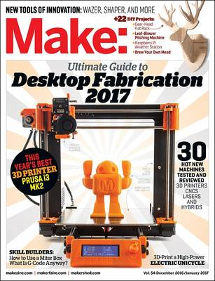 Make: Volume 54 by Mike Senese