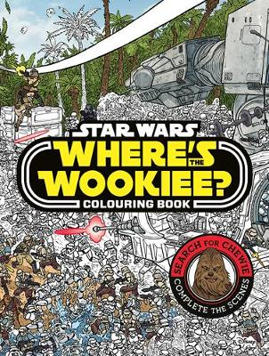 Where's the Wookiee? Colouring Book book