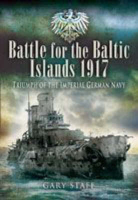 Battle of the Baltic Islands 1917 book
