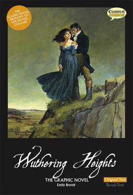 Wuthering Heights the Graphic Novel Original Text book