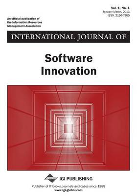 International Journal of Software Innovation, Vol 1 ISS 1 by Jenny Lee