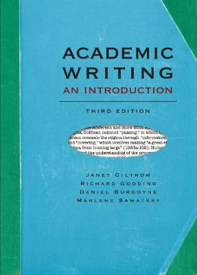 Academic Writing by Janet Giltrow