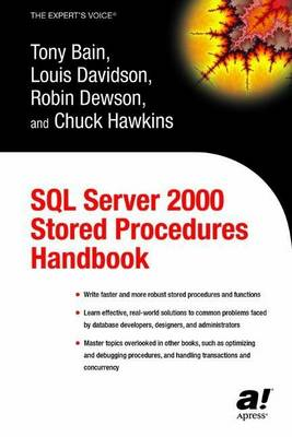SQL Server 2000 Stored Procedures Handbook by Robin Dewson