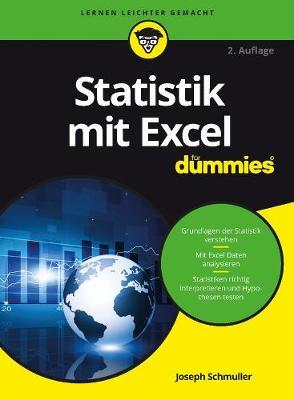 Statistik mit Excel fur Dummies by Joseph Schmuller