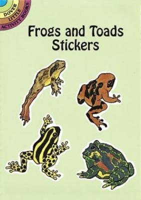 Frogs and Toads Stickers by Nina Barbaresi