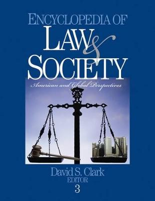 Encyclopedia of Law and Society by David S. Clark