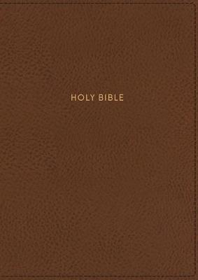 NKJV Thinline Reference Bible Red Letter Edition [Tan] by Thomas Nelson