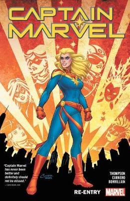 Captain Marvel Vol. 1: Re-entry by Kelly Thompson