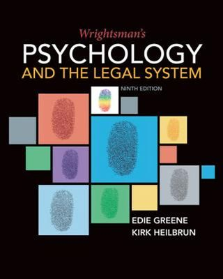 Wrightsman's Psychology and the Legal System book