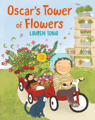 Oscar's Tower of Flowers by Lauren Tobia