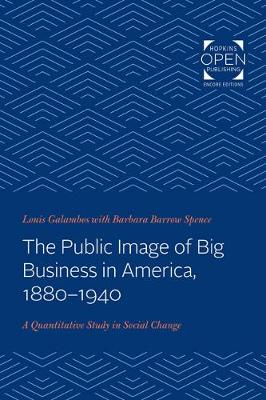 The Public Image of Big Business in America, 1880-1940: A Quantitative Study in Social Change by Louis Galambos