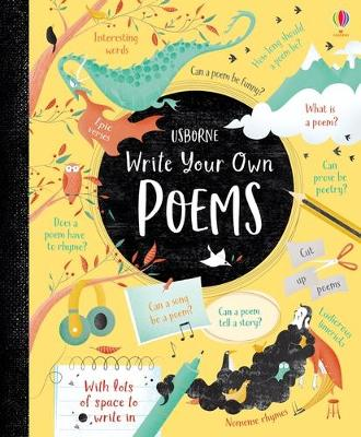 Write Your Own Poems book