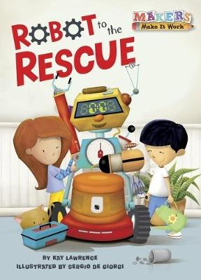 Robot to the Rescue book