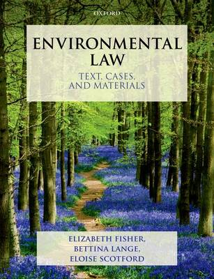 Environmental Law by Elizabeth Fisher