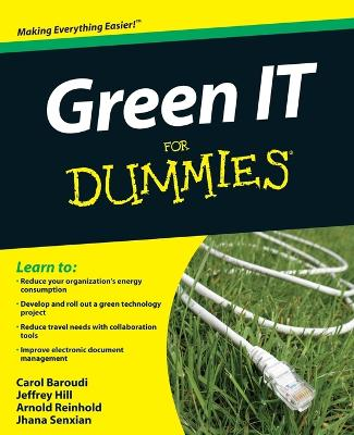 Green IT For Dummies book