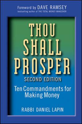 Thou Shall Prosper by Rabbi Daniel Lapin