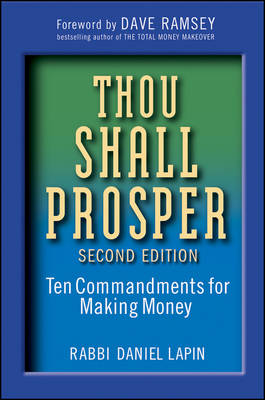 Thou Shall Prosper by Rabbi Daniel Lapin