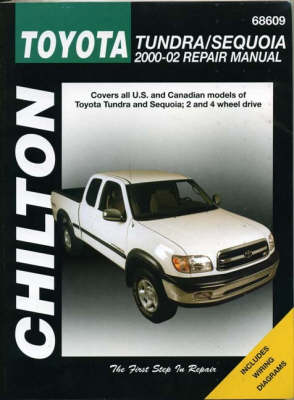 Toyota Tundra and Sequoia Automotive Repair Manual: 2000-2002 book