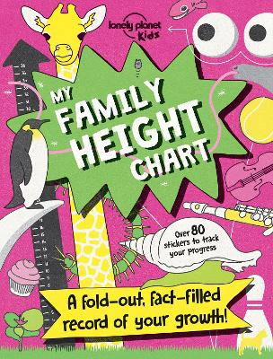 My Family Height Chart by Lonely Planet Kids