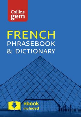 Collins French Phrasebook and Dictionary Gem Edition book