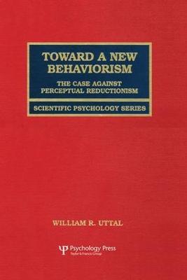 Toward a New Behaviorism book