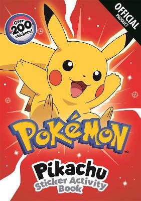 Pokemon: Pikachu Sticker Activity Book: With over 200 stickers book