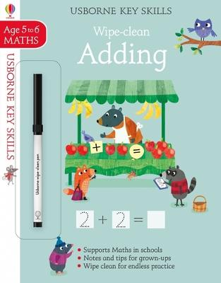 Wipe-Clean Adding 5-6 by Holly Bathie