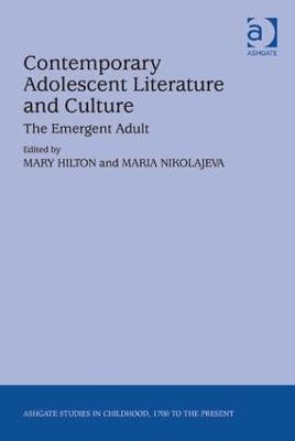 Contemporary Adolescent Literature and Culture book