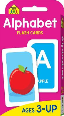 School Zone Alphabet Flash Cards (new cover) by