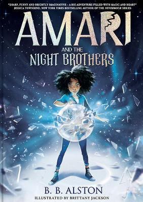 Amari and the Night Brothers book