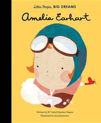 Amelia Earhart by Ma Isabel Sanchez Vegara