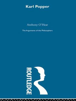 Popper-Arg Philosophers by Anthony O'Hear
