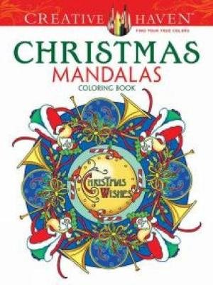 Creative Haven Christmas Mandalas Coloring Book by Marty Noble