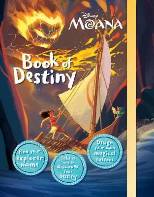 Disney Moana Book of Destiny by Parragon Books Ltd