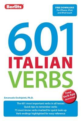 Berlitz 601 Verb Book: Italian by