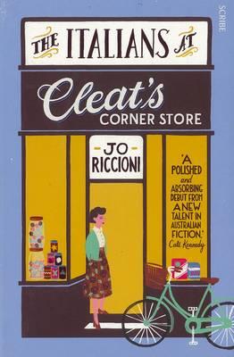 Italians At Cleat's Corner Store by Jo Riccioni